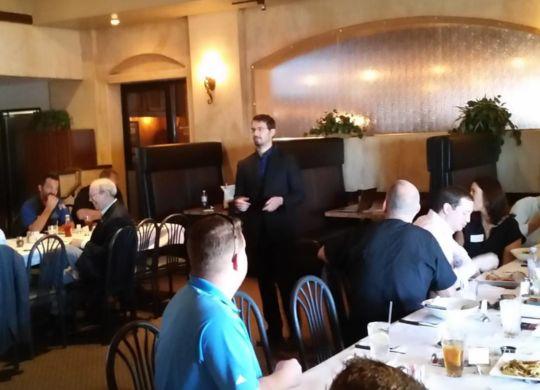 Internet marketing speaking at Las Vegas BNI