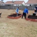 Green Our Planet - Building Garden for School
