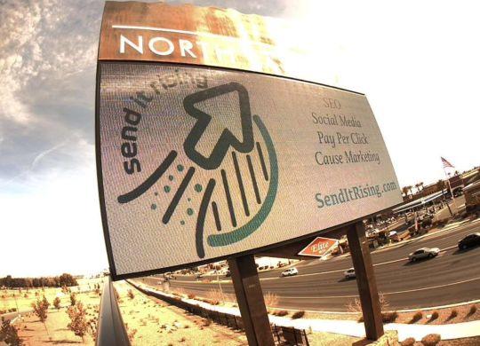 send it rising internet marketing billboard